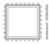 Vector Decorative Square Frame