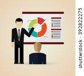 business icon design | Shutterstock .eps vector #392822275