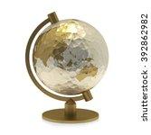 globe | Shutterstock . vector #392862982