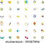 design elements | Shutterstock .eps vector #39287896