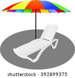 recliner | Shutterstock .eps vector #392899375