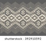 floral seamless pattern with a... | Shutterstock .eps vector #392910592