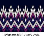 geometric ethnic oriental ikat... | Shutterstock .eps vector #392912908