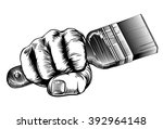 a vintage etched woodcut style... | Shutterstock .eps vector #392964148