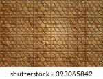 ceramic motif background | Shutterstock . vector #393065842
