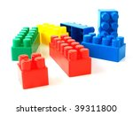 plastic toy bricks | Shutterstock . vector #39311800
