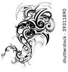 artistic shape | Shutterstock .eps vector #39311890