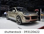 Постер, плакат: 2016 TechArt Porsche Cayenne