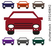 vehicle  icon | Shutterstock .eps vector #393140842