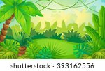 vector cartoon game background... | Shutterstock .eps vector #393162556