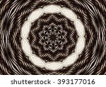 abstract design in white and... | Shutterstock . vector #393177016