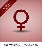 female vector icon | Shutterstock .eps vector #393203656