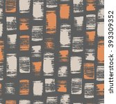 seamless pattern with sketch... | Shutterstock .eps vector #393309352