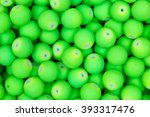Lime  Green Beads. Texture. Hi...