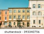 ravenna  italy   march 12 2016  ... | Shutterstock . vector #393340756