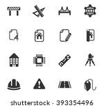 engineering web icons for user... | Shutterstock .eps vector #393354496
