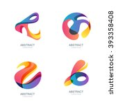 Set Of Abstract Shapes For...
