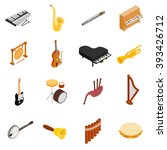 Musical Instruments Icons Set....