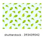 vector seamless pattern with... | Shutterstock .eps vector #393439042