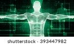 electronic medicine or e... | Shutterstock . vector #393447982