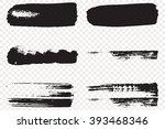 art collection grunge vector... | Shutterstock .eps vector #393468346