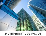 skyscraper office business... | Shutterstock . vector #393496705