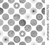 seamless vector pattern with... | Shutterstock .eps vector #393502702