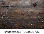 Void Wooden Background Of...