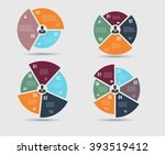 vector infographic template.... | Shutterstock .eps vector #393519412