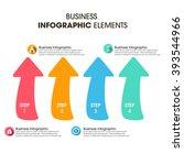 business infographics vector... | Shutterstock .eps vector #393544966