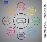 alarm clock vector icon | Shutterstock .eps vector #393564145