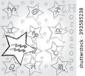 aquarius . horoscope . zodiac . | Shutterstock .eps vector #393585238