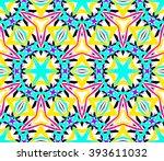 Colorful Kaleidoscope Seamless...
