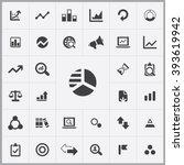 simple analytics icons set....