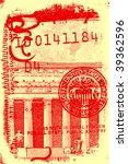 us dollar | Shutterstock . vector #39362596