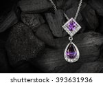 Jewelry Pendant Witht Gems On...