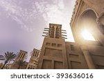 typical historic arabian... | Shutterstock . vector #393636016