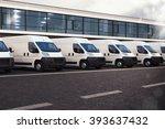 truck fleet   Shutterstock . vector #393637432