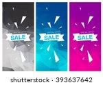 super sale special offer... | Shutterstock .eps vector #393637642