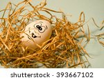 Small photo of A Happy Smiling Egg Is A Good Egg
