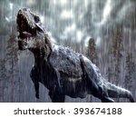 Tyrannosaurus Rex In A Tropica...