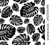 seamless pattern made from the... | Shutterstock .eps vector #393705595