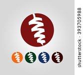 kebab logo  kebab icon | Shutterstock .eps vector #393705988