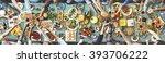 friends happiness enjoying...   Shutterstock . vector #393706222