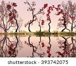Illustration Of Landscape With...