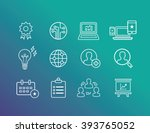 business and marketing icon | Shutterstock .eps vector #393765052