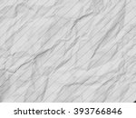 lined white crumpled paper... | Shutterstock . vector #393766846