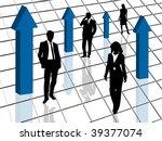 concept of business | Shutterstock .eps vector #39377074