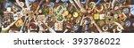 friends happiness enjoying...   Shutterstock . vector #393786022