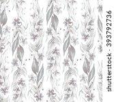 floral seamless pattern | Shutterstock . vector #393792736